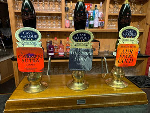 real ale pump clips